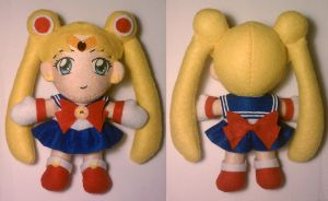Sailor Moon R Plushie by sakkysa