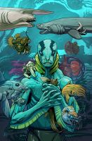 The evolution of Abe Sapien - contest entry by Onikaizer