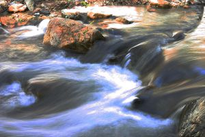 Flowing River by Wessington-Jaufre