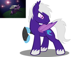 Karia The Bat Pony Vector by Shadowpredator100