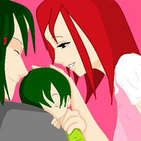 A happy family by FairyTailForever123