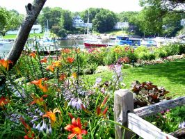 garden at ogunquit by PhotographyByKendra