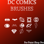 DC Comics Brushes by UltimeciaFFB