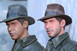 Sideshow Indy statue repaint 3 by DarrenCarnall