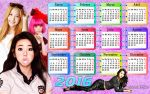 Wall Calendar Girls 2016 by RainboWxMikA