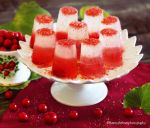 Raspberry Champagne Jello by theresahelmer