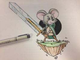 Mouse Knight by cury
