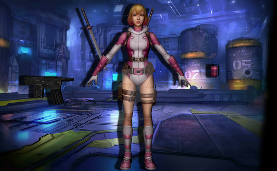 Gwenpool (Unmasked) by Pitermaksimoff