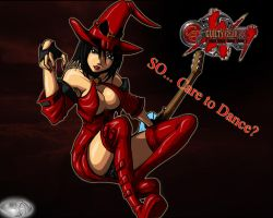 Guilty Gear...I-NO by ZKROX