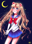 Sailor Moon by maryfraser