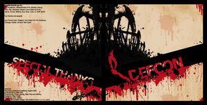 Defcon - Fuel The Fire Booklet by infinity-x