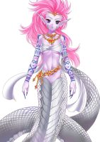 Commsission from MerciaRose round 2 ! Lamia by un4lord