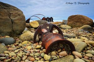 The Wreck of the S. S. Ethie, Newfoundland by TheLittleMaja
