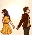 Addison And Drew by ResidentBrain
