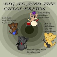 Big Al-Chili Fritos KITTIES by Sweet-As-Spice