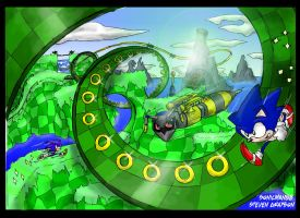 Sonic Generations Green hill 2 by sonicman88
