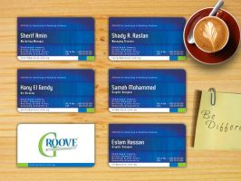 GROOVE business card by SaimOnatoR