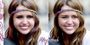 Miley cyrus retouch by letsplayyourlovegame