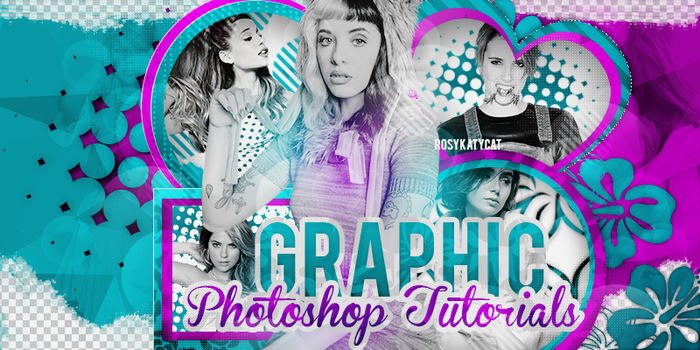 Graphic Ps tutorials by RosyKatyCat