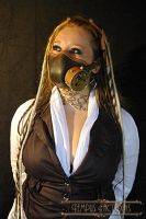 respirateur steampunk by Tempus-factoris