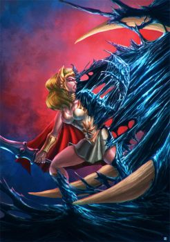 She Ra Symbiote by cric