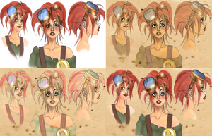 Color variations for Scrap by SarahPerryman