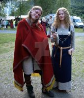 Vikings in Gudvangen by vikingurinn