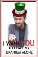 Uncle Mahmoud Ahmadinejad by m-p-3