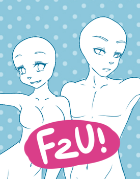 FREE TO USE! Anthro Base Female AND Male! by Shadow-PupX3