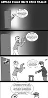 Edward Cullen Vs. Chris Hansen by pippin1178
