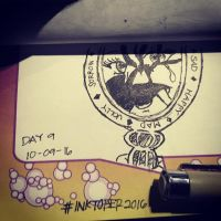 Project: Inktober 2016 -day 9- by mscherbear