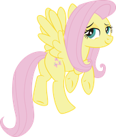 Fluttershy naked PNG not final by leopurofriki