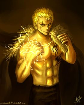 Yellow: Laxus by Jeannette11