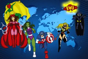 Los Vengadores - The Avengers by Kyo3