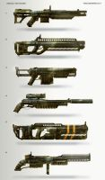 Shotguns by TomEdwardsConcepts