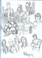 Smallville sketches by vibog-3