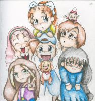 The Harvest Moon Gang by Grandia-Gaia