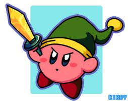Kirby Link by mzelBulle