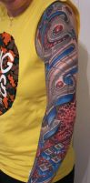 roman abrego inspired sleeve... by graynd