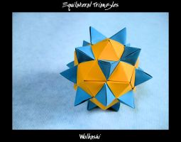 Equilateral Triangles by wolbashi