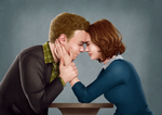 Fitzsimmons - The Forehead Touch Thing by eclecticmuse