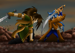 SoC Chap 1 mission 1 (Caelius vs Ares) by Rumain