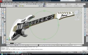 Ibanez JEM full view by ThieresCAD