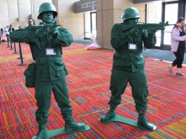 Toy Soldiers by DragonShinobi555