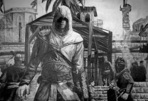 Assassins Creed Drawing by Daphneven