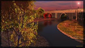 Autumn River Re-Render -06-08-2k12-and 14 by rimete