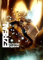 Rising Spellforce - Ezreal, the Prodigal Explorer by buryed