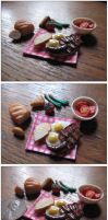 Old Fashioned Breakfast by Maylar