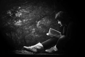 The reader by Black-White-Club