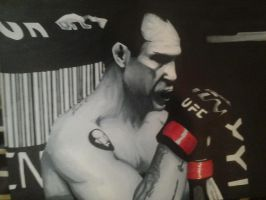 Wanderlei Silva by Draw4fun2